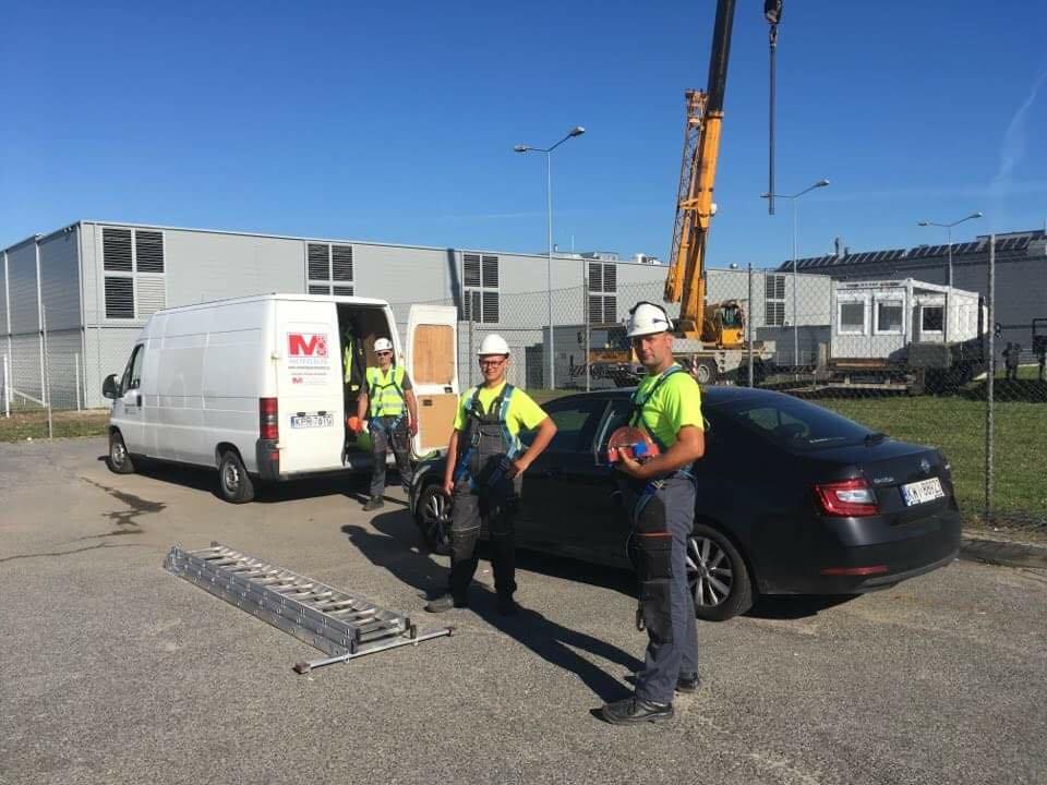 Servis in montaža kontejnerjev