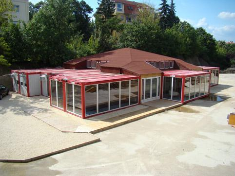 Container building for rent
