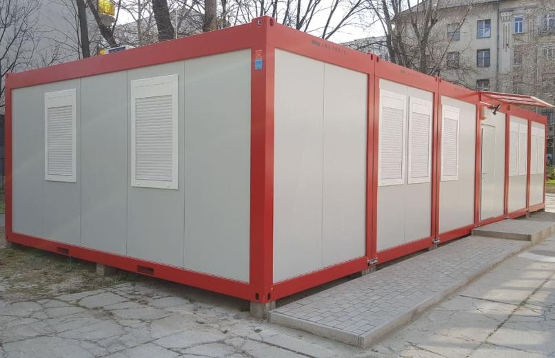 Deli za pisarniske kontejnerje